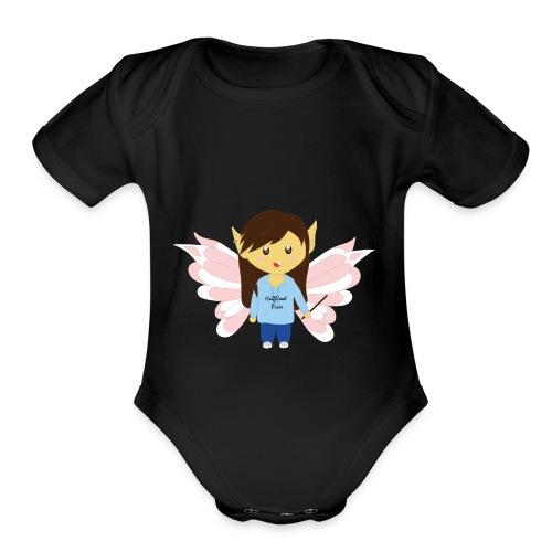 Cute HalfbloodPixie - Organic Short Sleeve Baby Bodysuit
