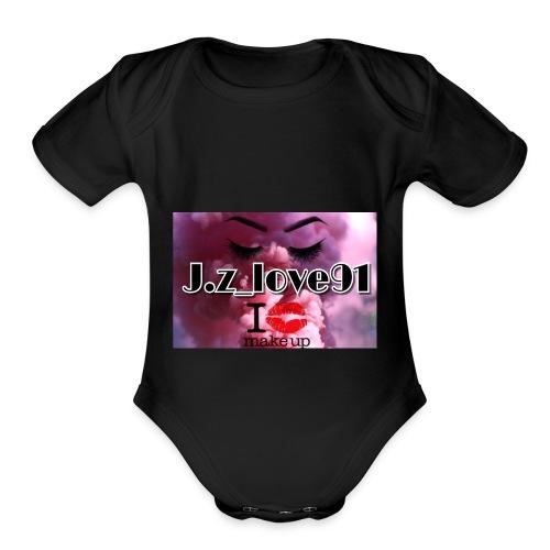 AC602DC5 F780 4448 A84C AE07CFEE6283 - Organic Short Sleeve Baby Bodysuit