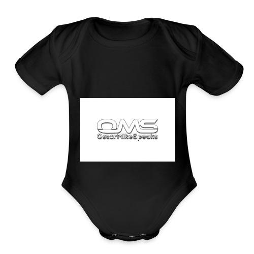 OscarMikeSpeaks - Organic Short Sleeve Baby Bodysuit