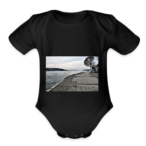 Bosphorus Strait T-shirt - Organic Short Sleeve Baby Bodysuit