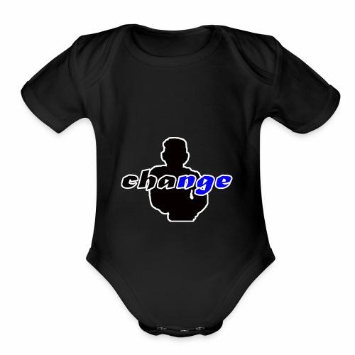 CHANGES - Organic Short Sleeve Baby Bodysuit