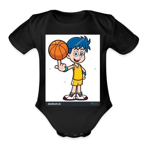 Jaden Debonds merch - Organic Short Sleeve Baby Bodysuit