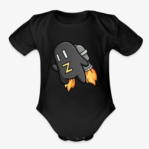 Zastroid - Organic Short Sleeve Baby Bodysuit