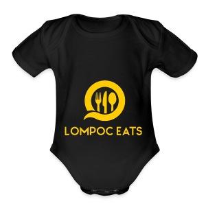 Lompoc Eats - Short Sleeve Baby Bodysuit
