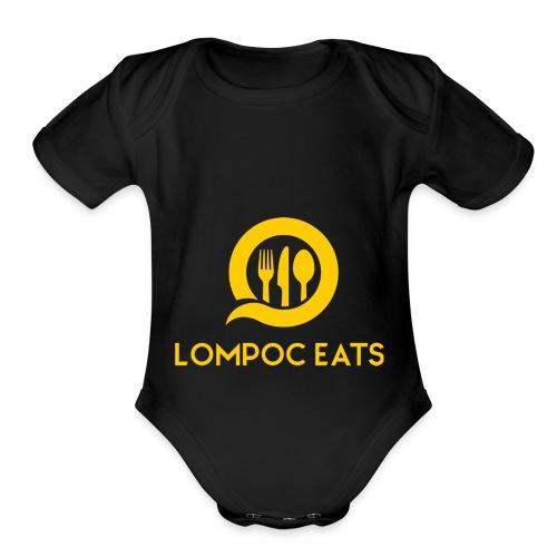 Lompoc Eats - Organic Short Sleeve Baby Bodysuit