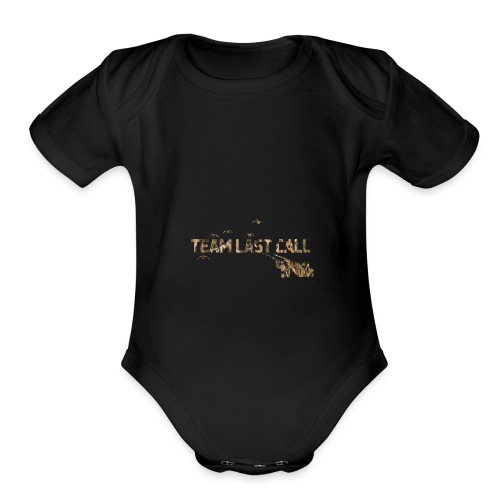 Team Last Call official Logo - Organic Short Sleeve Baby Bodysuit
