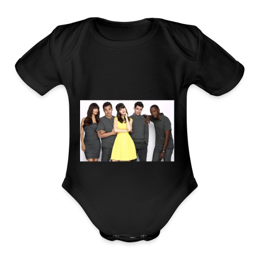 New Girl - Organic Short Sleeve Baby Bodysuit