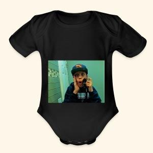 Pj Vlogz Merch - Short Sleeve Baby Bodysuit