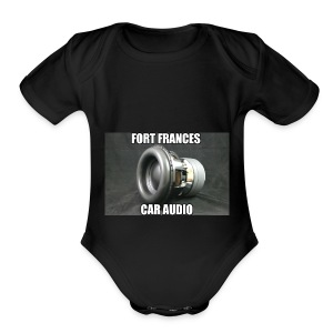 Fort Frances Car Audio - Short Sleeve Baby Bodysuit