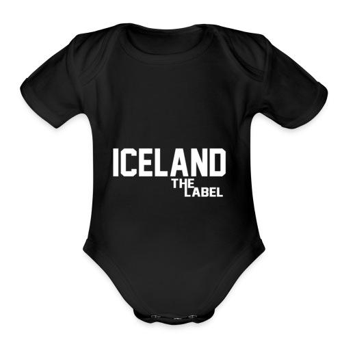 iceland_the_label_printable - Organic Short Sleeve Baby Bodysuit