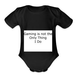 Gaming - Short Sleeve Baby Bodysuit