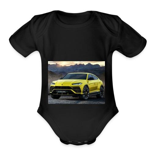 Lamborghini Urus - Organic Short Sleeve Baby Bodysuit