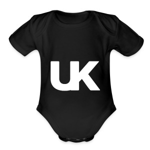 UNDRK EDITION 1 - Short Sleeve Baby Bodysuit