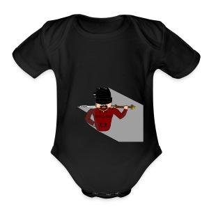 Dandado Avatar (NEW SALE) - Short Sleeve Baby Bodysuit