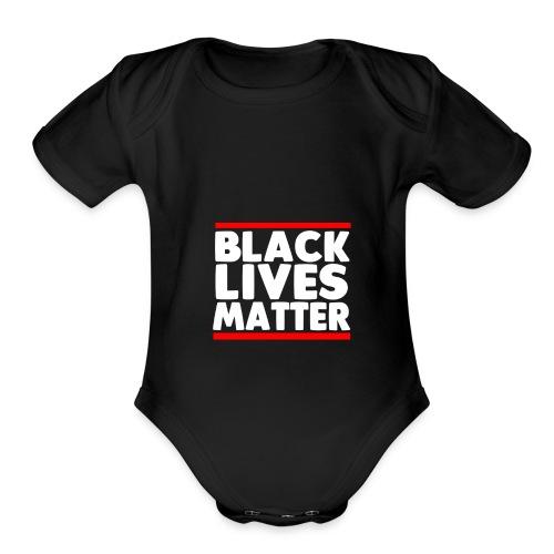 Black Lives Matter - Organic Short Sleeve Baby Bodysuit