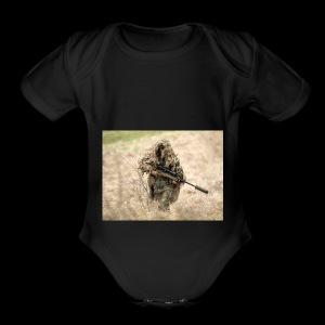 XxDemolisher123xX Hoodie - Short Sleeve Baby Bodysuit