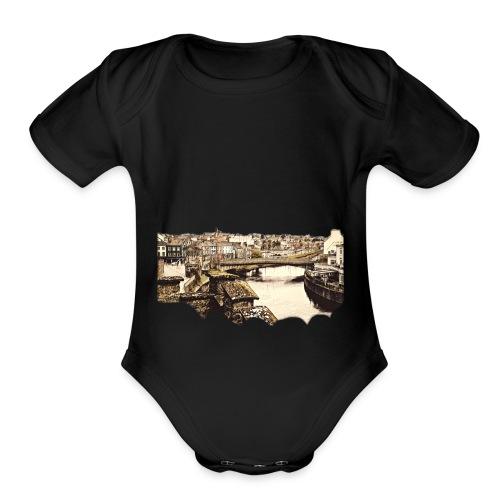 Beautiful City - Organic Short Sleeve Baby Bodysuit