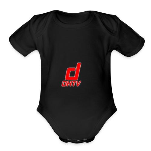 DHTV_Logo_New - Organic Short Sleeve Baby Bodysuit