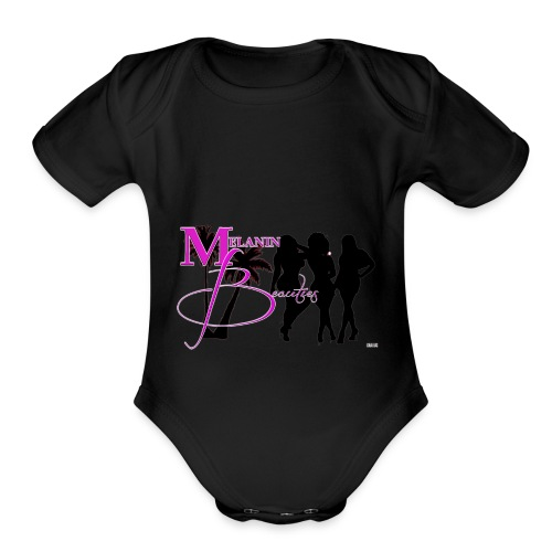 CRAVUS MELANIN BEAUTIES 22 - Organic Short Sleeve Baby Bodysuit
