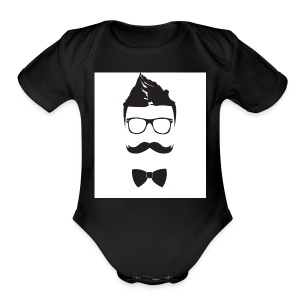 my logo - Short Sleeve Baby Bodysuit