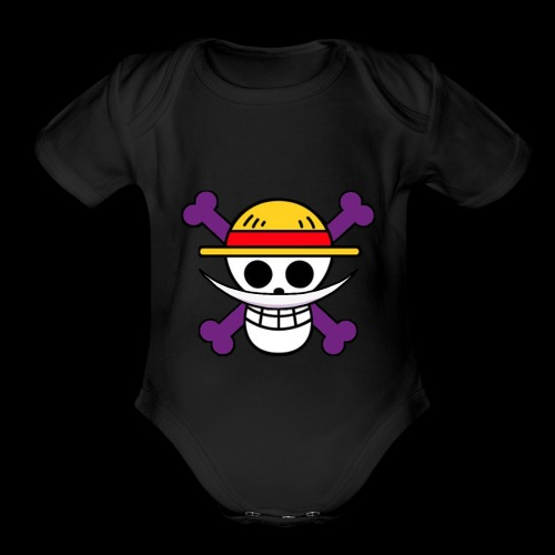 One Piece - Shirohigi - Organic Short Sleeve Baby Bodysuit