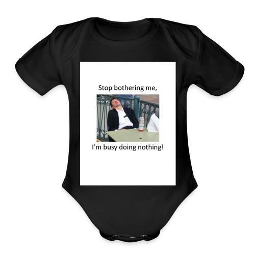 Vegas - Organic Short Sleeve Baby Bodysuit