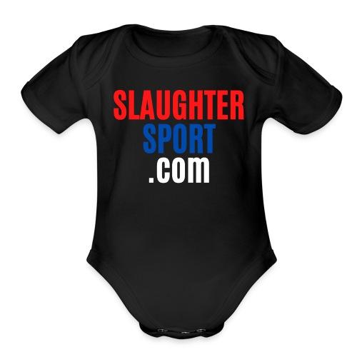 SLAUGHTERSPORT.COM - Organic Short Sleeve Baby Bodysuit