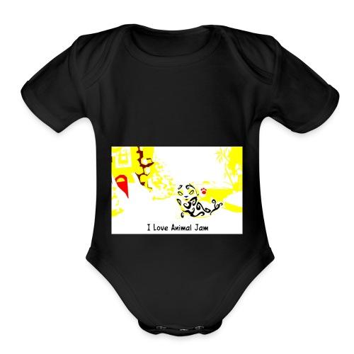 zurumalbert - Organic Short Sleeve Baby Bodysuit