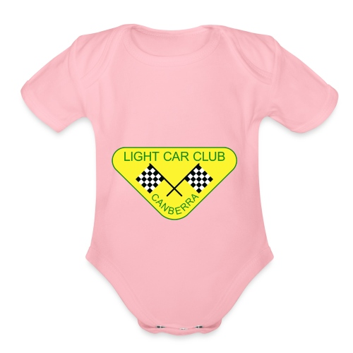 LCCC - Organic Short Sleeve Baby Bodysuit