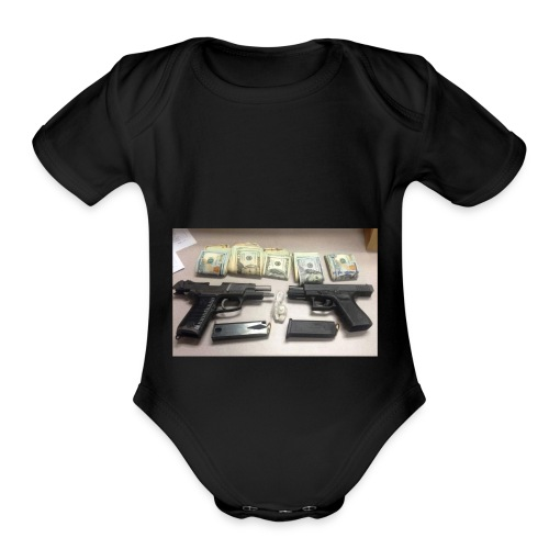 the real deal - Organic Short Sleeve Baby Bodysuit