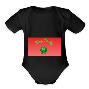 Fruit Stuff - Short Sleeve Baby Bodysuit