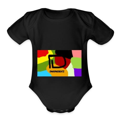 DwayneRektz Dye - Organic Short Sleeve Baby Bodysuit