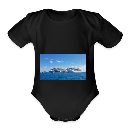 Cruise - Organic Short Sleeve Baby Bodysuit