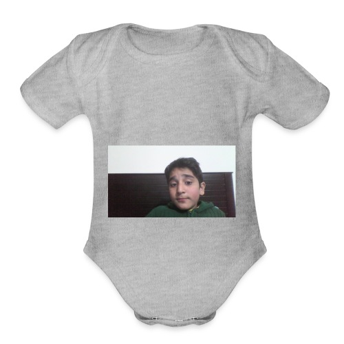 Dont Think Just BUY - Organic Short Sleeve Baby Bodysuit