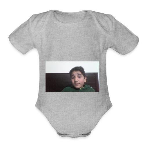 Dont Think Just BUY - Organic Short Sleeve Baby Bodysuit