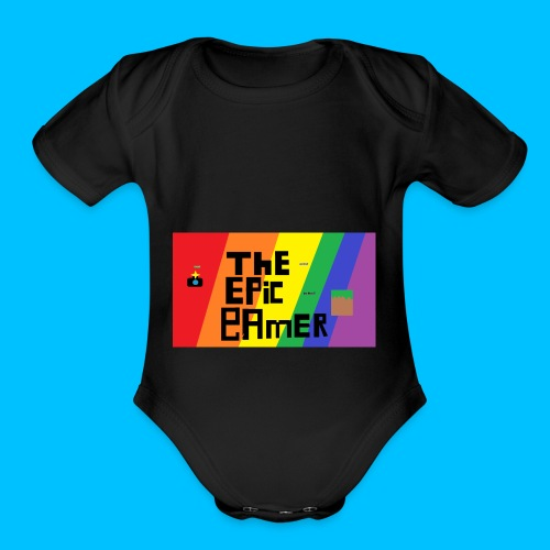 The Epic Gamer special - Organic Short Sleeve Baby Bodysuit