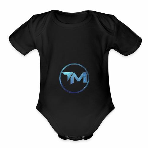 TechMedia Logo Merch - Organic Short Sleeve Baby Bodysuit