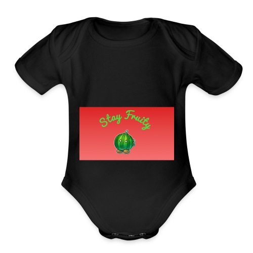 Fruit Stuff - Organic Short Sleeve Baby Bodysuit