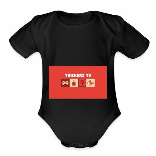 Untitled design 4 - Organic Short Sleeve Baby Bodysuit