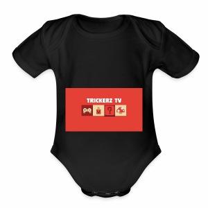 Untitled design 4 - Short Sleeve Baby Bodysuit