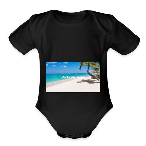 ZACK EDDY VLOGS - Organic Short Sleeve Baby Bodysuit