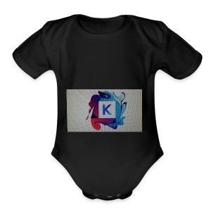 K stuff - Short Sleeve Baby Bodysuit