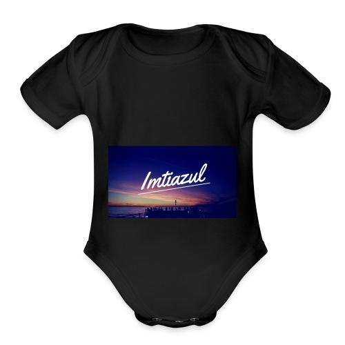 Copy of imtiazul - Organic Short Sleeve Baby Bodysuit