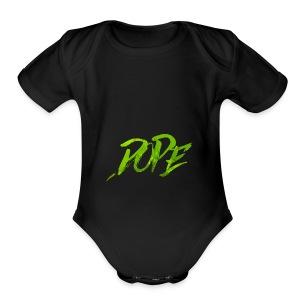 DOPE - Short Sleeve Baby Bodysuit