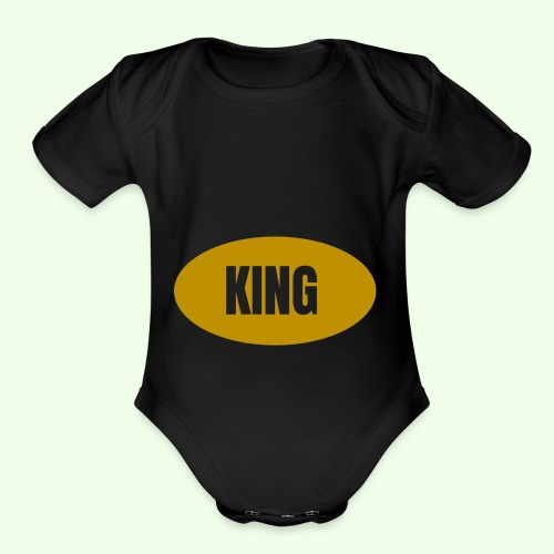 Drake King Design - Organic Short Sleeve Baby Bodysuit