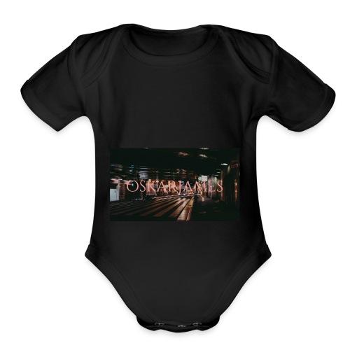 oskar james - Organic Short Sleeve Baby Bodysuit