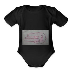 15209722304351567942468 - Short Sleeve Baby Bodysuit