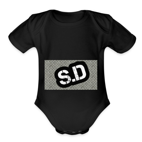 First sd - Organic Short Sleeve Baby Bodysuit