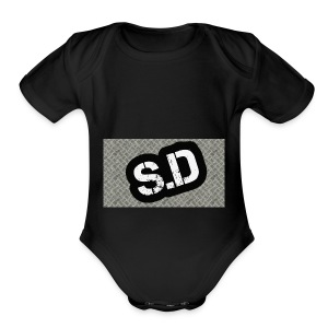 First sd - Short Sleeve Baby Bodysuit