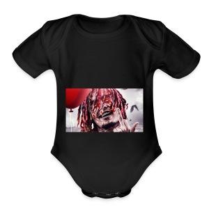 lilpump it shirt - Short Sleeve Baby Bodysuit